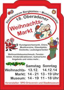 Bergkamen, Weihnachtsmarkt, SPD